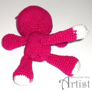 assemblage tuto crochet chat