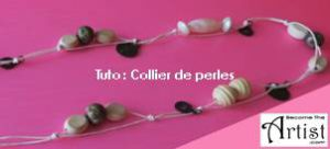 Tuto Collier en Perles DIY BecomeTheArtist.com