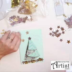 BecomeTheArtist - Carte de Noel 2016
