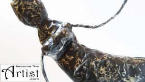 BecomeTheArtist DIY TUTO Statue Africaine Papier Mache