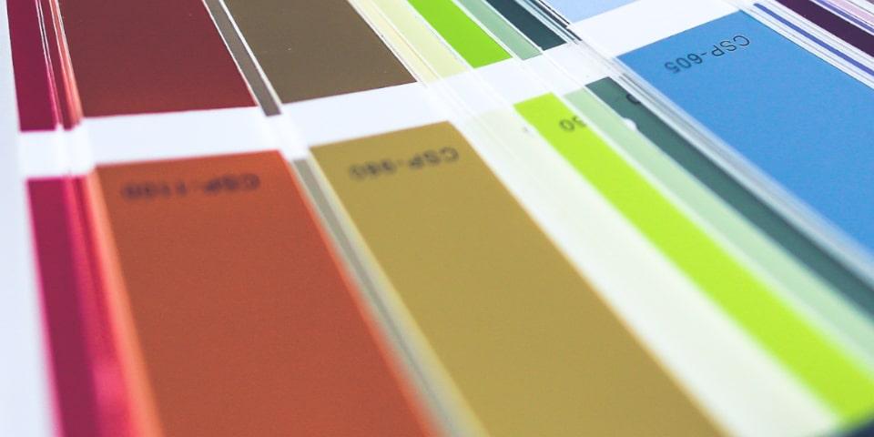faire un choix de couleur