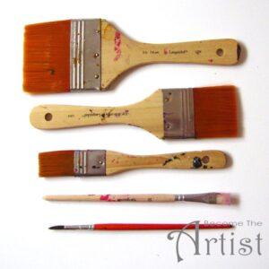 quels pinceaux pour peinture acrylique