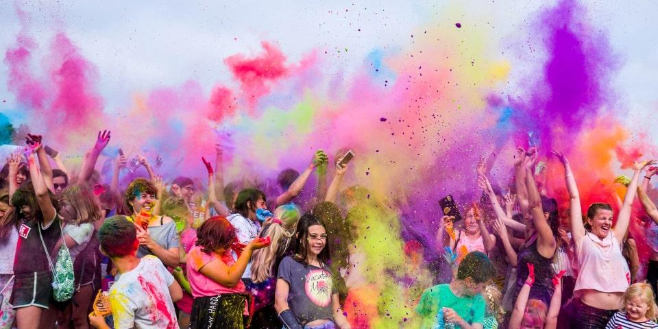 vie pleine de joi et de couleurs anti-solitude