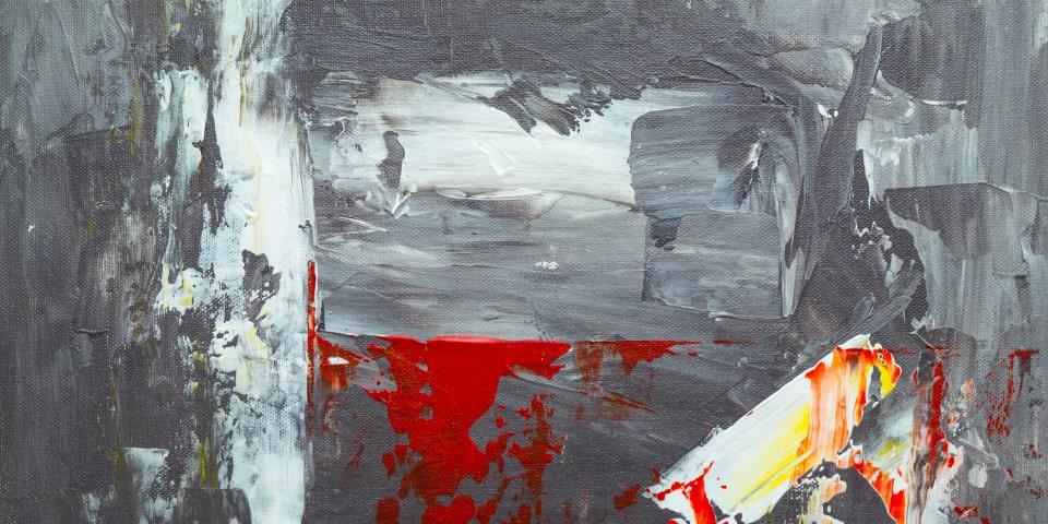 la toile grise avec des touches de couleur. Au fur et à mesure que vous vivez des expériences positives, captez des touches de couleur sur la toile qui représente votre vie