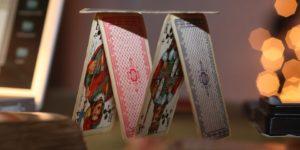 château de cartes construire la base