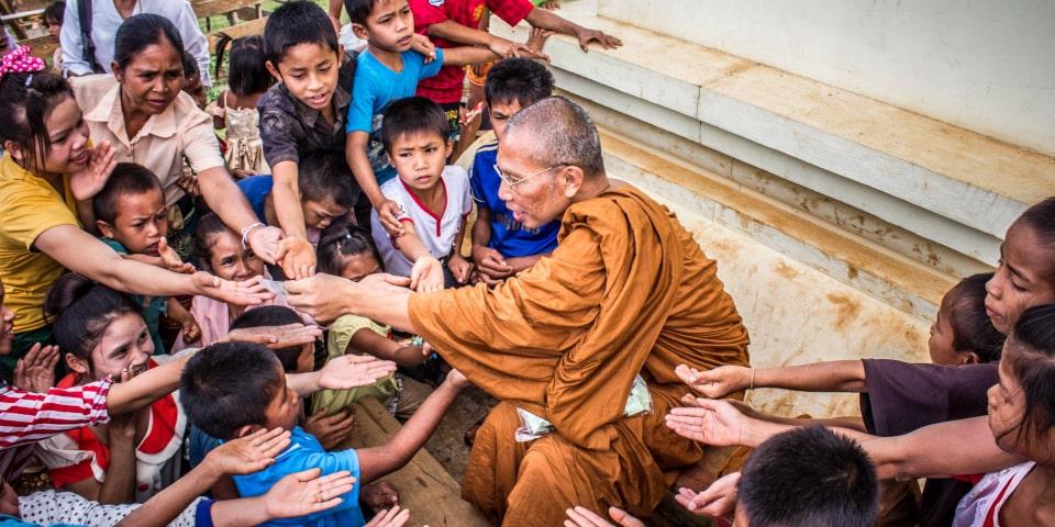 un moine vous inspire et est une personne marquante pour vous