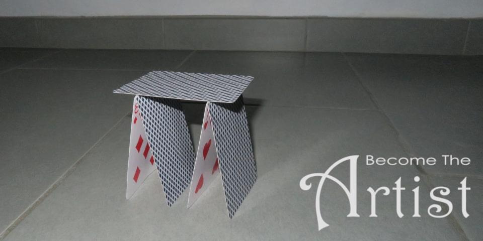 rez château de cartes