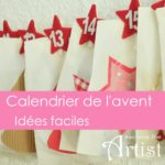 idées pour comment faire un calendrier de l'avent facile