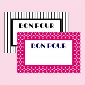 Printable Bons