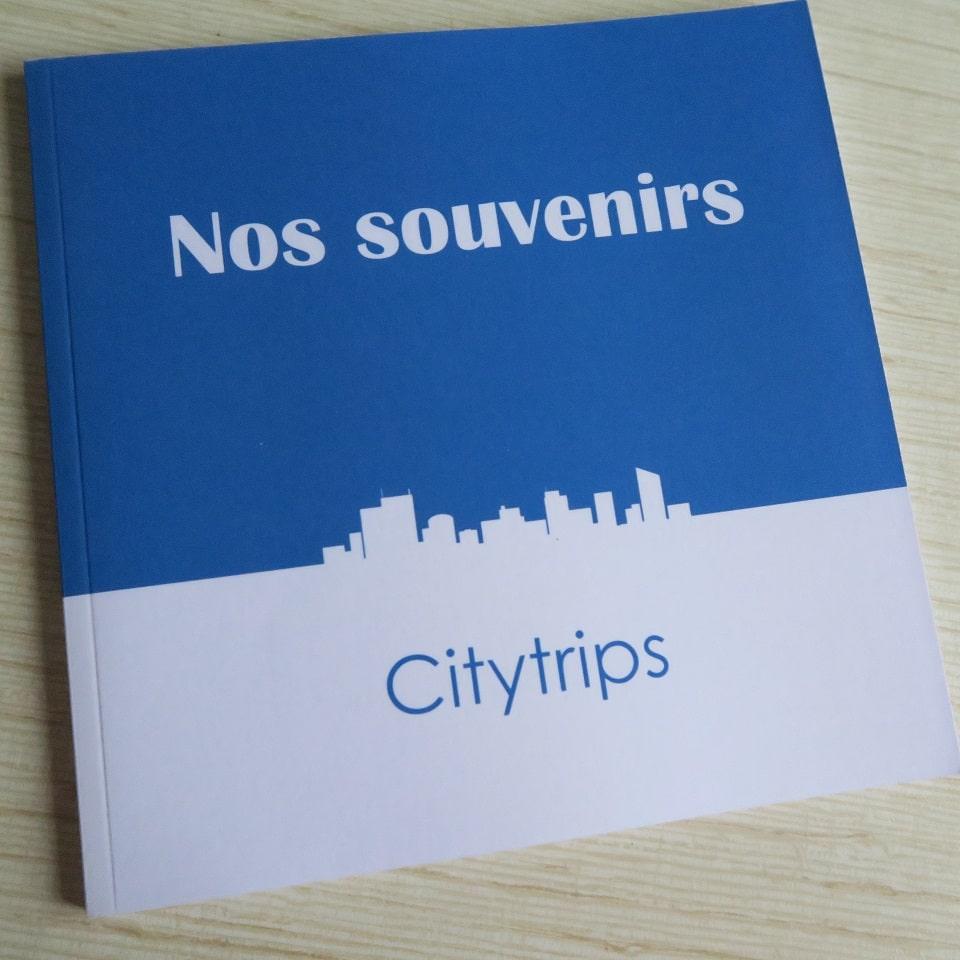 Carnet Nos Souvenirs - Citytrips par C. Dusoleil