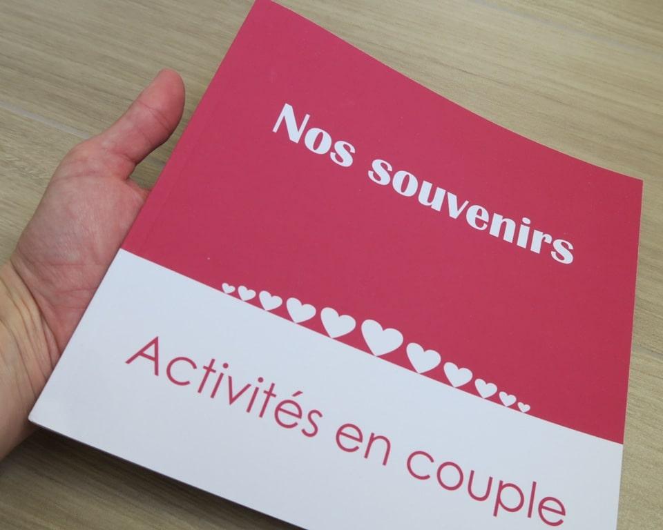 présentation du livre Nos souvenirs - Activités en couple C. dusoleil