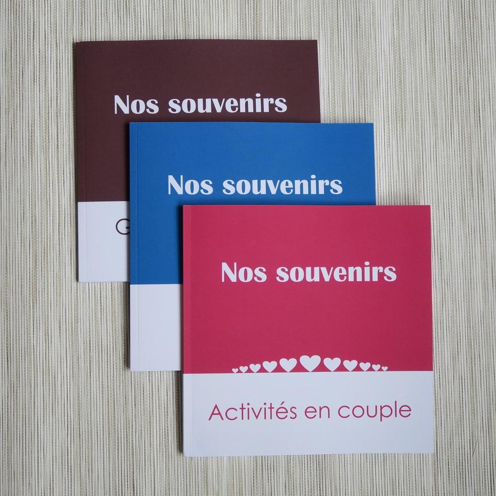 livres C. Dusoleil - série Nos Souvenirs